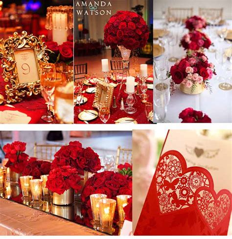 red and gold home decor gold and red wedding decor decoratingspecial com