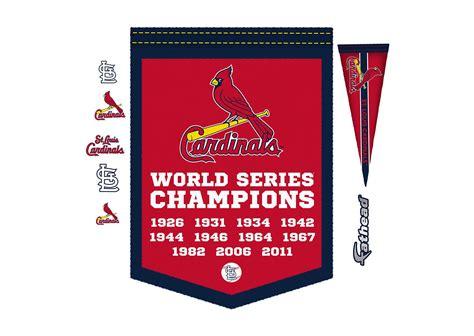 chionship banner template st louis cardinals world series chions banner wall