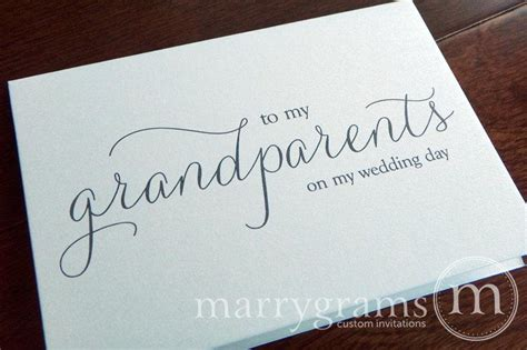 thank you letter to grandparents wedding card to grandparents of the or groom cards