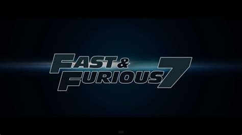 Ans To Be Released by Fast And Furious 7 Release Date April 2015 Premiere