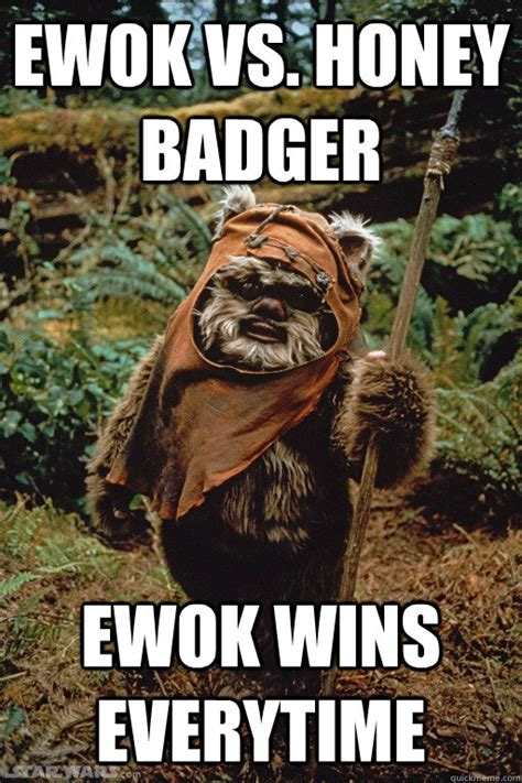 Ewok Memes - give him a hug and tell him you love him dubstep ewok