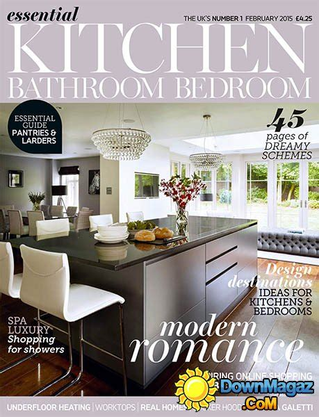 essential kitchens and bathrooms essential kitchen bathroom bedroom february 2015