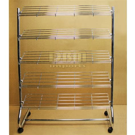 5 Shelf Shoe Rack by Chrome 5 Shelf Tier Shoe Rack 5 Shelves Organizer Storage