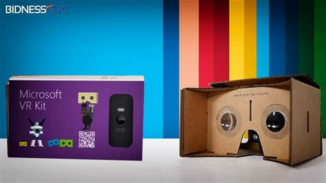 Vr Kit microsoft s vr headset to give tough competition to cardboard
