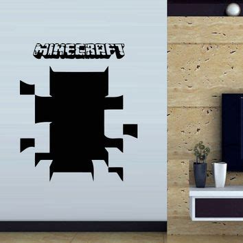 minecraft bedroom decals best minecraft creeper stickers products on wanelo
