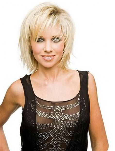 medium length choppy bob hairstyles for women over 40 medium length choppy haircuts