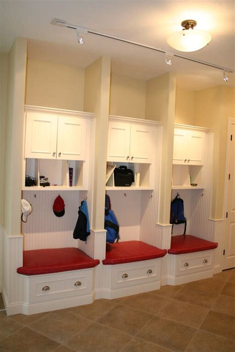 home plans with mudroom mudroom locker with storage bench plan pdf blueprint