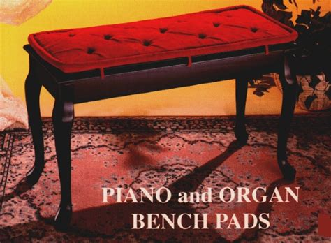 organ bench cushion piano bench pads piano bench pads