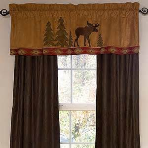Lodge Curtains Moose Lodge Window Treatments Cabin Place