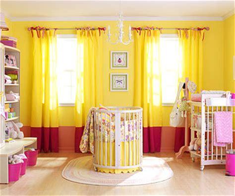 yellow baby bedroom baby girl yellow room home trendy