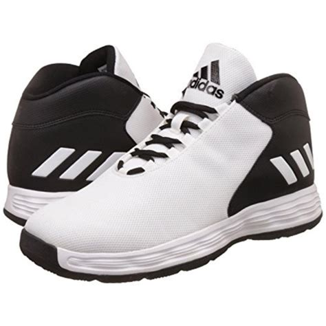 adidas basketball shoes history buy adidas hoopsta black white leather basketball shoes