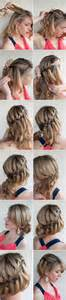 Braided bun hairstyle the 6 hottest medium length hairstyles