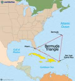 Bermuda Map World by The Bermuda Triangle Map And Details