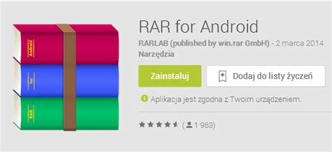 winrar for android oficjalny winrar na androida już dostępny aplikacja rar for android jest darmowa pc world