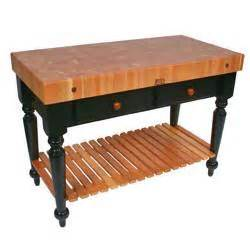 kitchen island butcher block table boos 30 quot w le rustica butcher block table kitchen