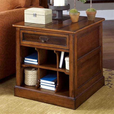End Table Ls For Living Room Living Room Awesome Living Room Side Table Decorations With Brown Varnished Wood Cameron End