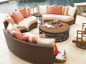 Outdoor Curved Sofa Club Pacifica Armless Curved Sofa Home Brands