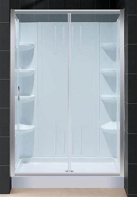 Infinity Shower Door Infinity Sliding Shower Door And Shower Backwall Kit