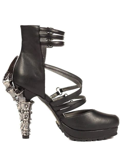 Issue Black Heels quot verne quot high heels by hades black inked shop