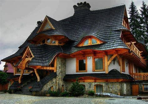 amazing house beautiful cottage in the woods with