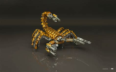 golden scorpion wallpapers and images wallpapers