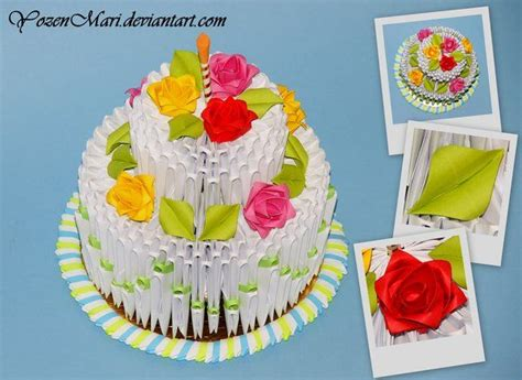 3d origami cake tutorial images frompo 1000 images about origami 3d on pinterest