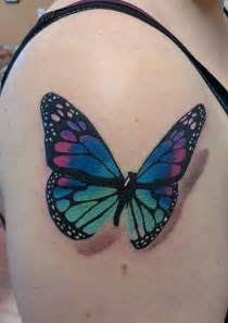 colorful butterfly tattoos 50 exles of colorful tattoos and design