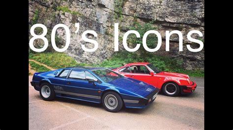 porsche 911 turbo 80s 80 s icons lotus esprit turbo and porsche 911 turbo