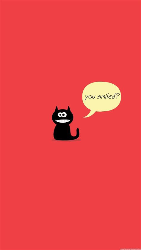 cute cat smile iphone   hd wallpaper hd