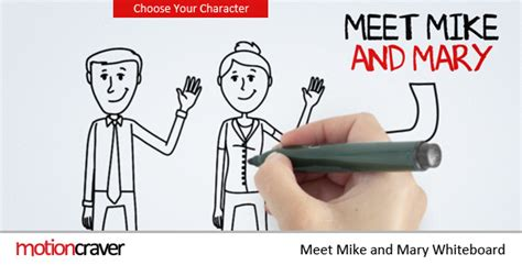 Meet Mike Mary Whiteboard By Motioncraver Videohive Whiteboard After Effects Template