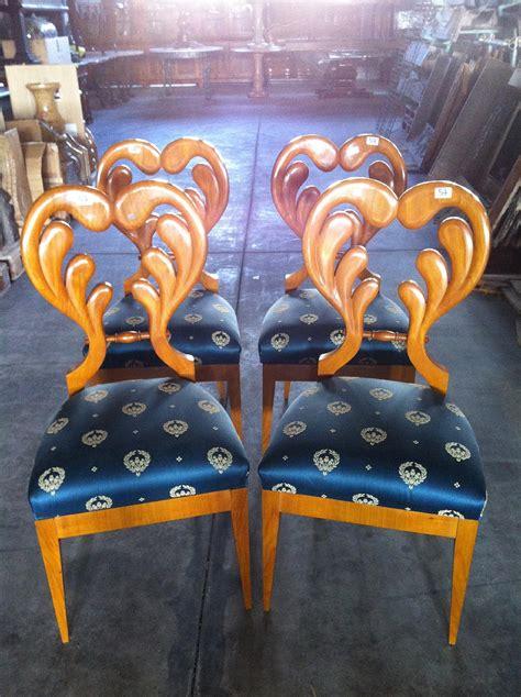 sedie biedermeier sei sedie biedermeier antiquariato su anticoantico