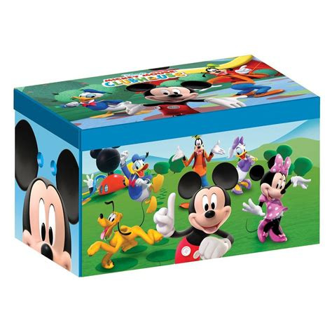 Mouse Organizer Tempat Mouse 1 disney mickey mouse collapsible fabric box storage bedroom character ebay