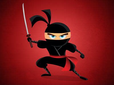 ninja cartoon character ninja ninja characters cartoon jays design