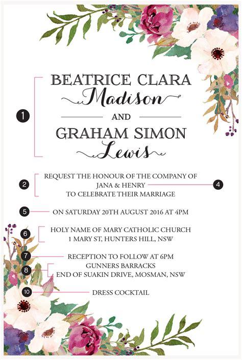 Wedding Invitation Wording Au by Invitation Wording Wedding Invitations Event Stationery