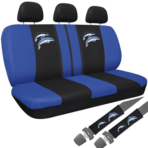 suv seat covers 15pc set suv seat covers blue purple dolphin floor