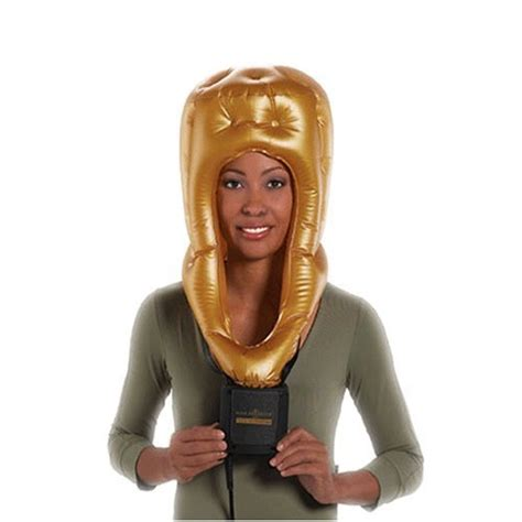 Select Pro Gold Hair Dryer Attachments ionizing large soft bonnet hair dryer with storage