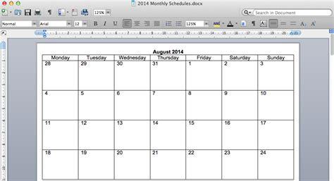 Create My Own Calendar Template Make Your Own Calendar Template On