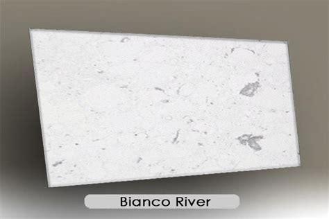 Bianco River Quartz Countertops by Engineered And Quartz Gemini International Marble
