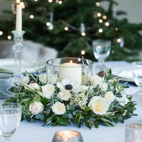 table arrangement best 25 winter table centerpieces ideas on