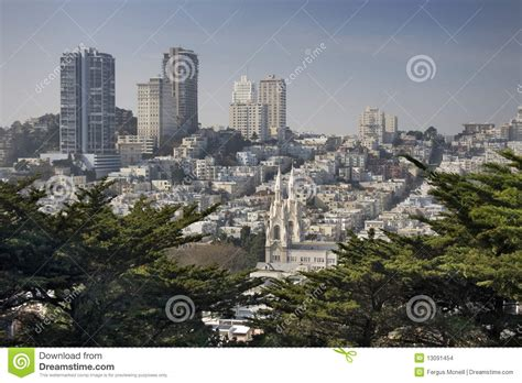 san francisco map russian hill russian hill san francisco stock images image 13091454