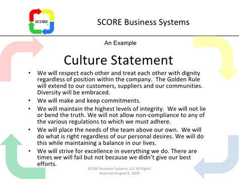Developing A Lean Culture By Gregg Miner Company Culture Template
