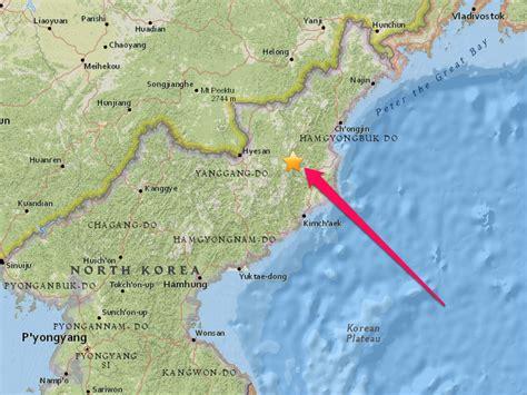 earthquake korea a mysterious artificial earthquake was just detected