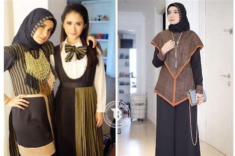Tantri Dress Tz Gamis Dress Baju Wanita Muslim Ramadhan Tz kain lurik sedang tren ini 10 inspirasi gaya yang bisa kamu tiru