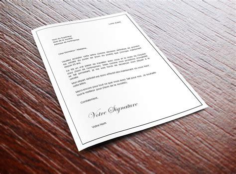 Exemple Lettre De Demission Suite Harcelement Moral lettre de demission pour harcelement moral contrat de