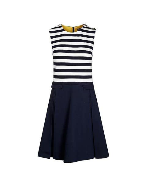 Reina Dress Jersey Fit Xl hilfiger kleid blau hilfiger damen kleid
