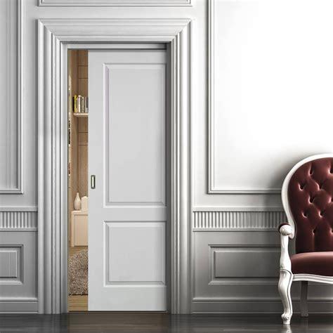 sliding pocket doors caprice white single pocket door sliding door systems