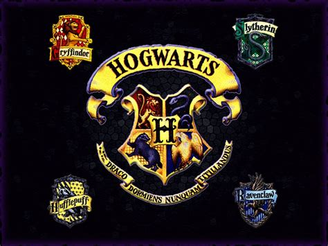 what are the houses in harry potter seals of hogwart s houses harry potter photo 30663468 fanpop