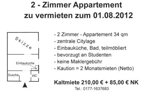 wohnungssuche miete 7 parteienmiethaus 1 zimmer wohnung in j 252 lich stadtmitte