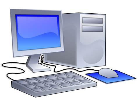 desktop computer clip at clker vector clip