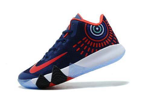 most popular nike basketball shoes most popular nike kyrie irving 4 navy blue white